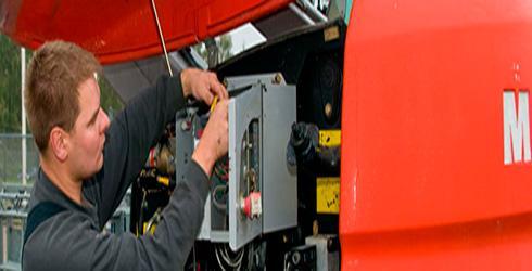 Service & reparation af entreprenørmaskiner - J. Franks Liftservice
