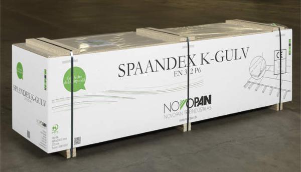 SPAANDEX K-GULV EN312 P6