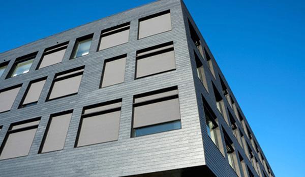 Jyllands Markisefabrik: Screen JM-Zip vindstabil