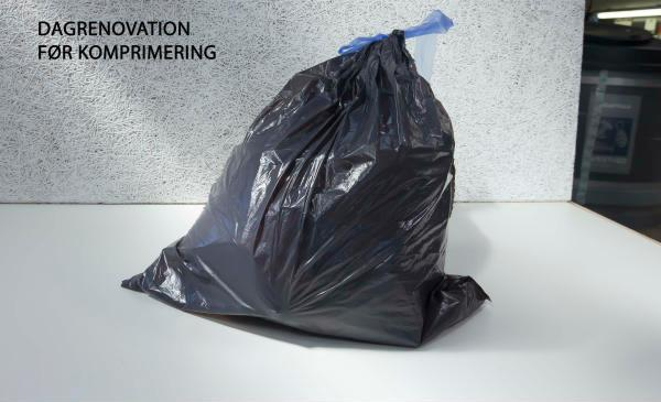 Ny solcelle-drevet komprimator presser affaldet og øger affaldskapaciteten markant i beholderen