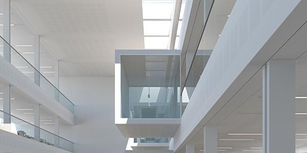 Gyptone® Quattro 70 Akustiske lofter og vægge med fin perforering