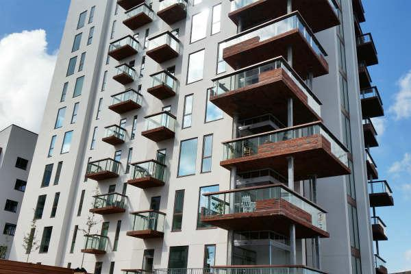 Udfordrende byggeri med rekordstore altaner af højstyrkebeton