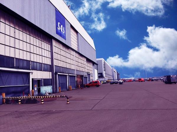 Kingo fjerner gammel SAS hangar i Københavns lufthavn