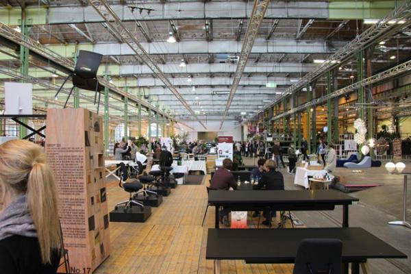 Netværk og nytænkning på populær møbelmesse