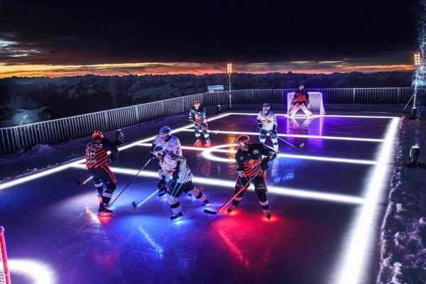 High-perfomance sport møder high-performance belysning