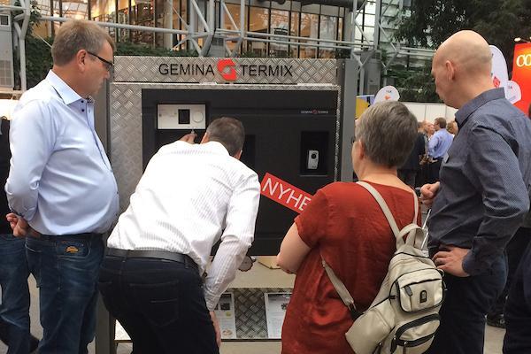 Flot modtagelse af ny, fuldisoleret compactstation fra Gemina Termix