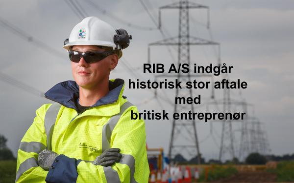 RIB A/S underskriver historisk stor aftale med Carillion plc, en førende britisk entreprenør