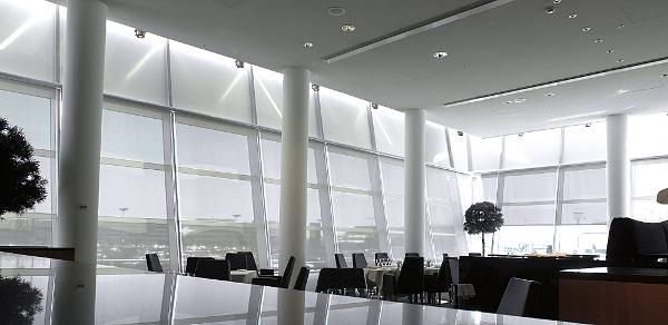 Interiørscreens dæmper lysindfald