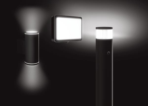 Stilfuld udendørs LED Belysning med ALVA-serien fra ESYLUX