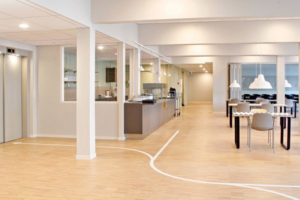 Plejecenter opnår energibesparelse på hele 50 % med ny belysningsløsning