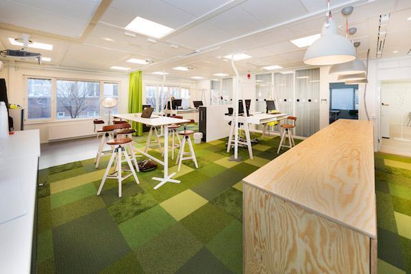Et væld af muligheder med specialdesignede kontormoduler
