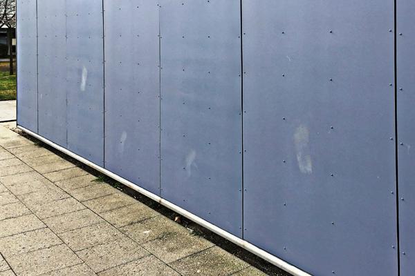 Facader sikres mod hærværk og graffiti