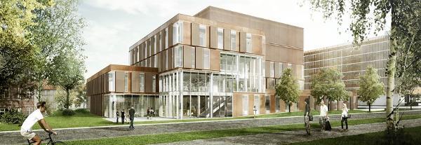 Ny laboratorie- og logistikbygning på Bispebjerg Hospital