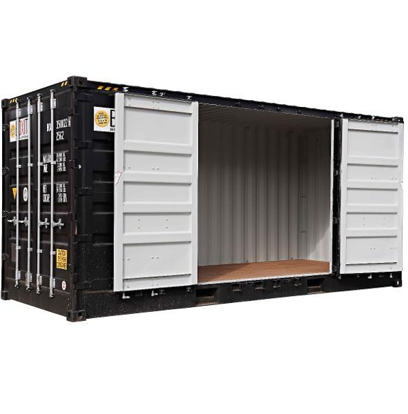 Sidedørscontainer