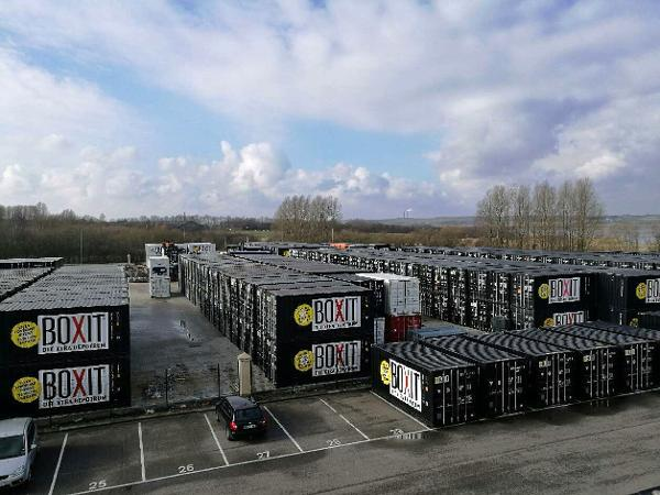 Nyt centalt containerdepot i Risskov