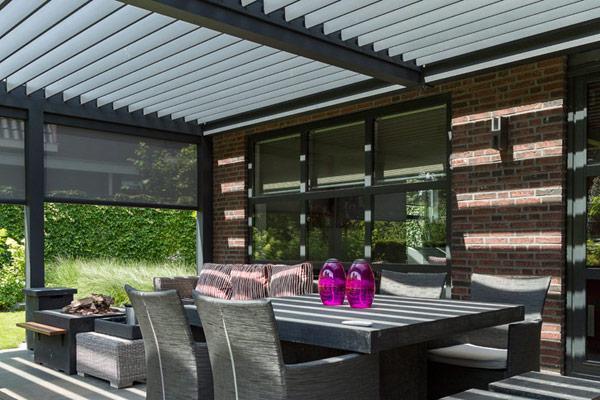 Udendørsdrømme - eksklusive uderum med terrassemarkiser eller fast overdækning