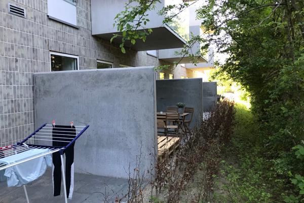 Kreativ brug af vores L-element giver boligbyggeri arkitektonisk særpræg