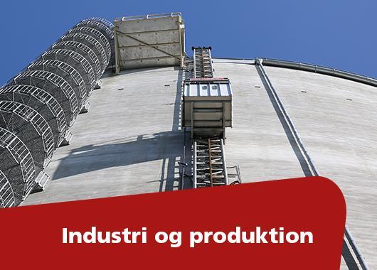 Løsninger for industri-, produktions-, energi- og medicinalvirksomheder