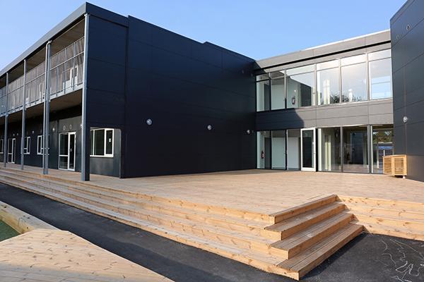 Pavillonbyggeri i unik høj kvalitet til skolebrug