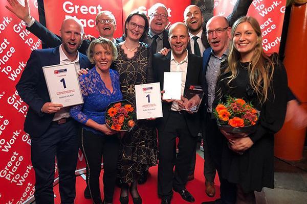 Elbek & Vejrup løber med prisen som Danmarks bedste arbejdsplads