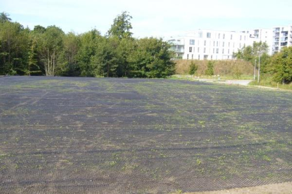 Grøn parkeringsplads i Hjørring