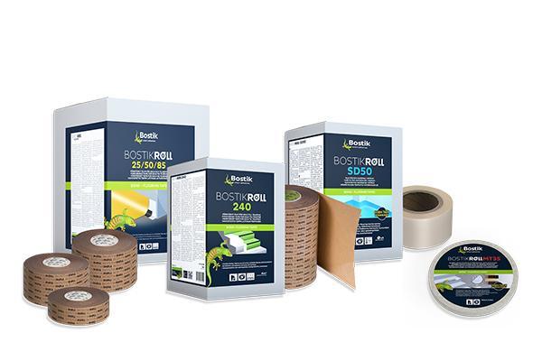 Bostik Roll - professionel specialtape til gulvmaterialer
