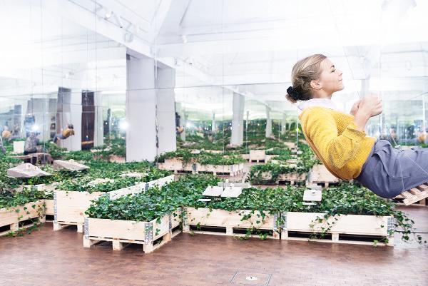 Fyrkrydsfinér og Fyrtræslister til spændende, ny udstilling på Utzon Center