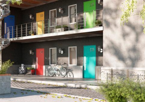 SWEDOOR lancerer nyt yderdørskoncept til projektmarkedet