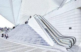 Serien af rulletrappe-løsninger under Schindler 9300AE, kan tilpasses dit arkitektonisk koncept