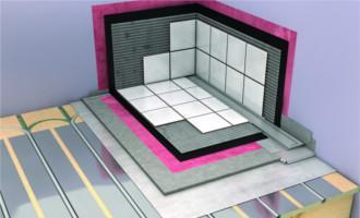 Gulvpladen til gulvvarme vådrum