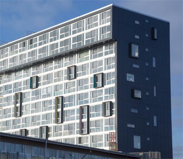 Ny snegl effektiviserer affaldshåndteringen i Magisterparken i Aalborg