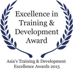 Excellence in Training & Development Award