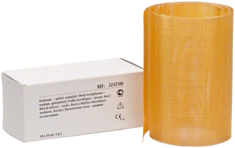 Drahtnetz Verg 50x10 Mittel Ro - dentalzon