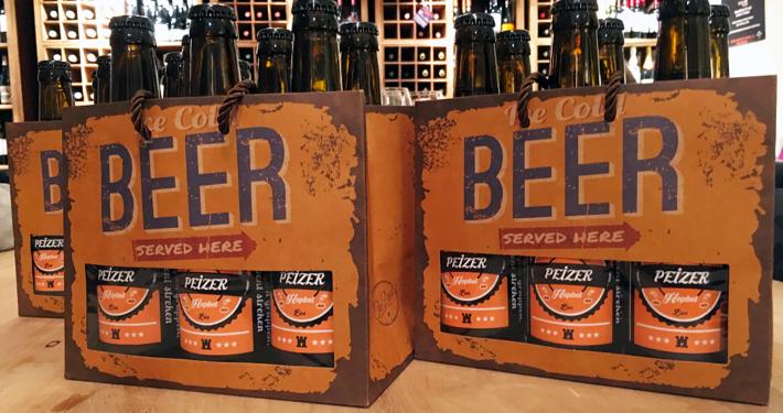 Bierproeflokaal: Peizer Hopbel six packs