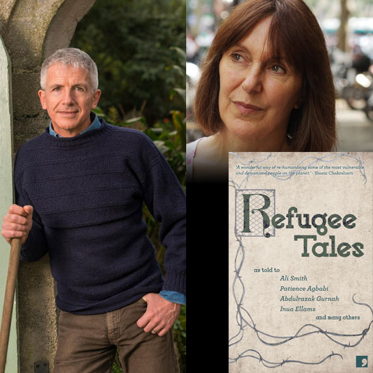 Refugee Tales  with Patrick Gale and Marina Lewycka