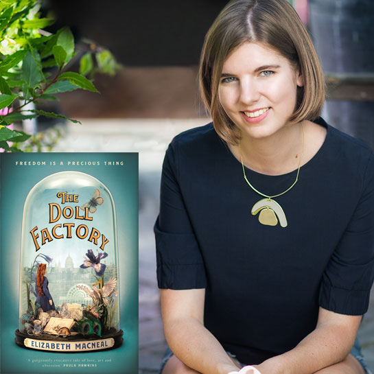 Debut Author: Elizabeth Macneal - The Doll Factory