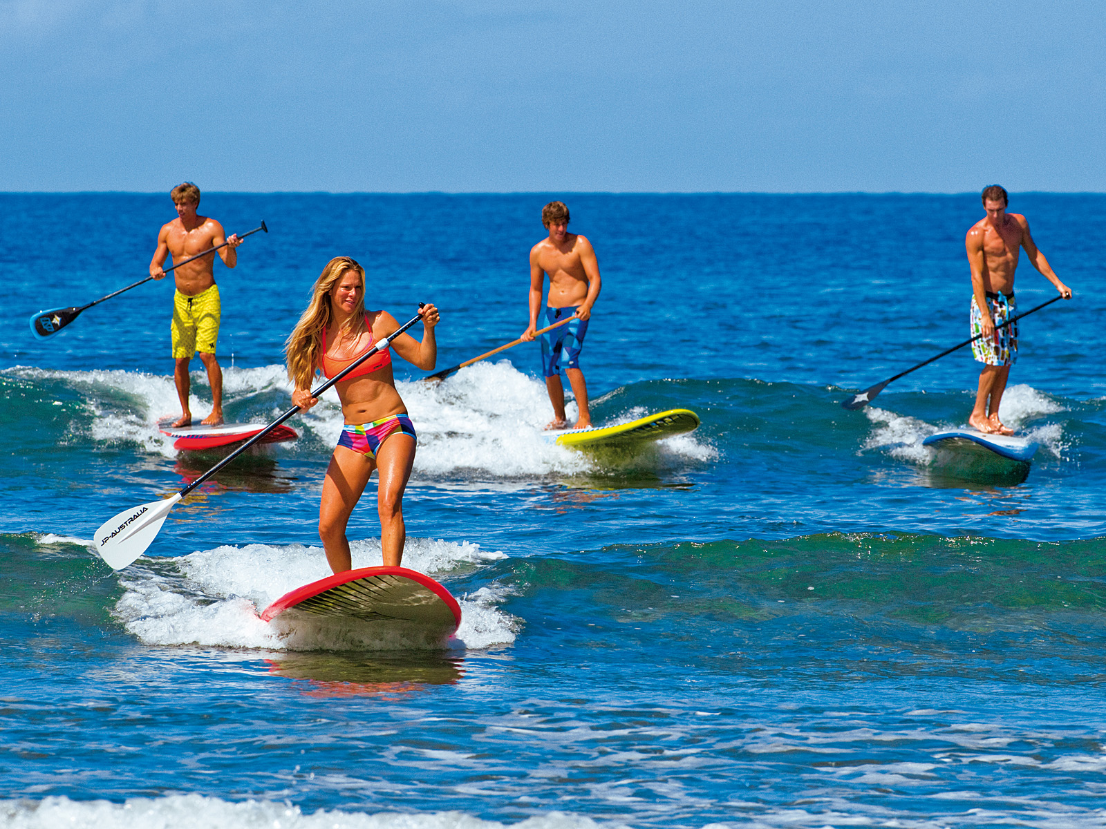 Clase de Stand-Up Paddle