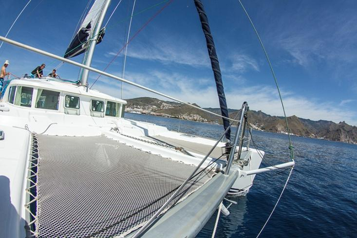 Alquiler 4 horas CATAMARAN LAGOON 440 (cloudbreak)