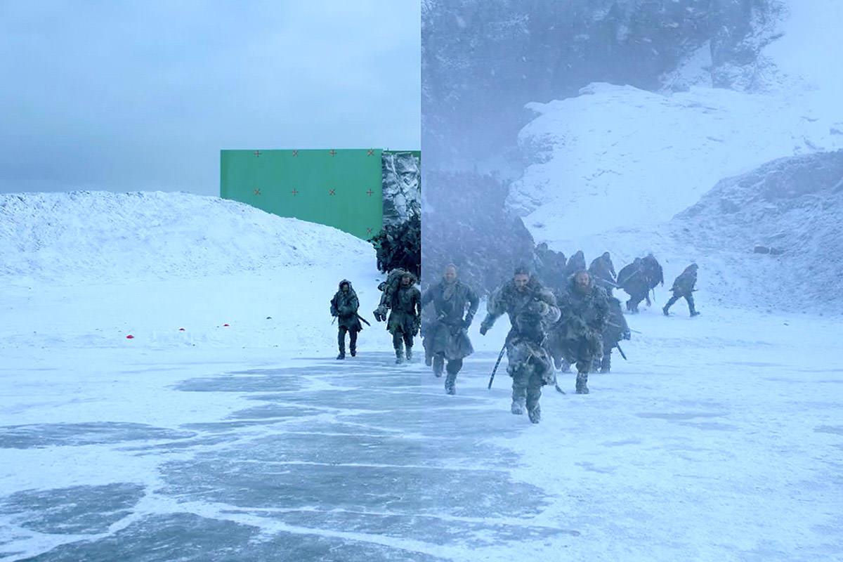 Making Of So Entstand Die Game Of Thrones Schlacht Am