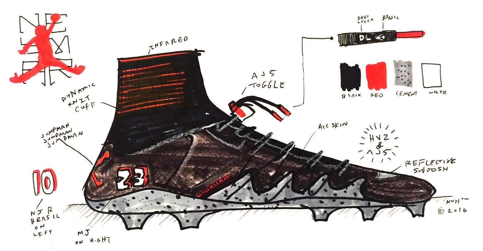 Nike Designer Nathan Vanhook Erklärt Den Njr X Jordan Hypervenom 2