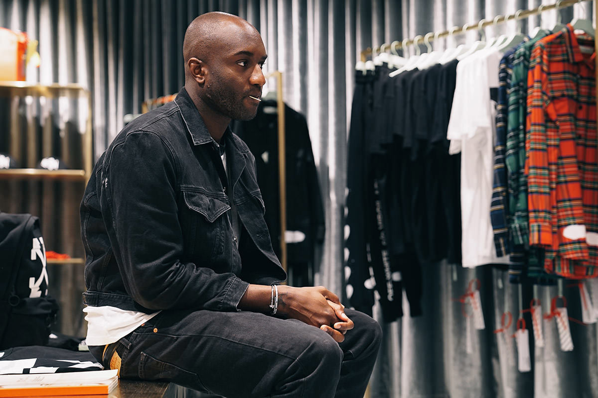 1860b15809cb OFF-White founder Virgil Abloh shows a high degree of understanding for  fashion design