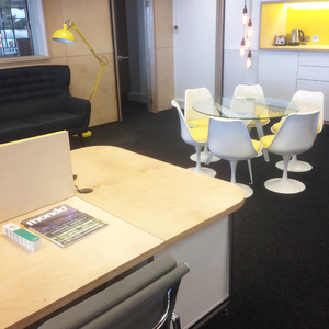 Bespoke Desk in Funky Design Agency at Prop Studios in
