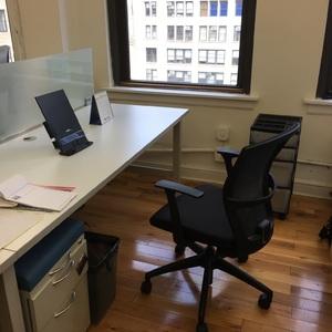 Desk rental photo august '18