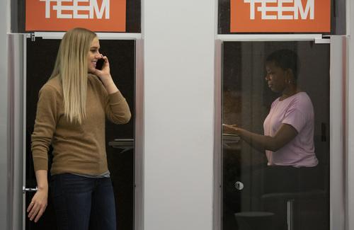 Teem coworking phone booths