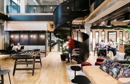 20180127 wework shoreditch mark square   common areas   internal staircase 1