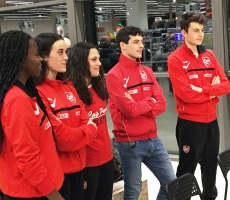 Interspar nelle nuove divise del CUS Parma