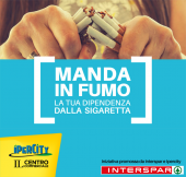 Manda in fumo la sigaretta