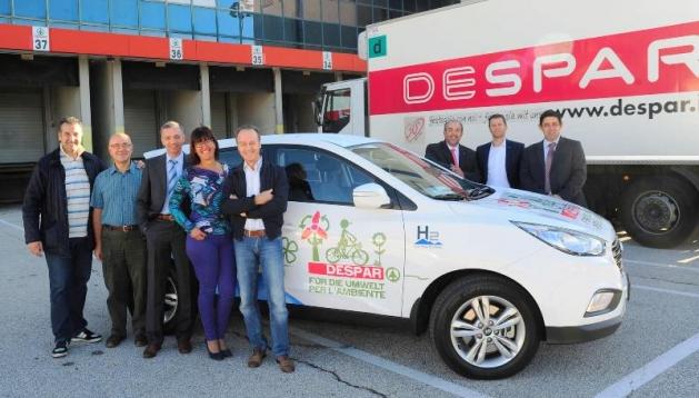 Prime auto a idrogeno: una è nostra!