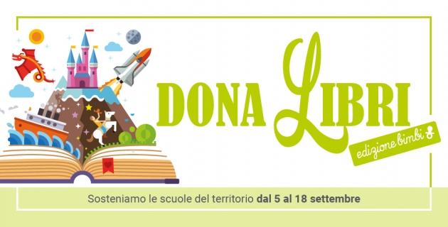 """Riparte la 'colletta culturale' """"DonaLibri' di DESPAR per sostenere le scuole dell'infanzia del territorio"""
