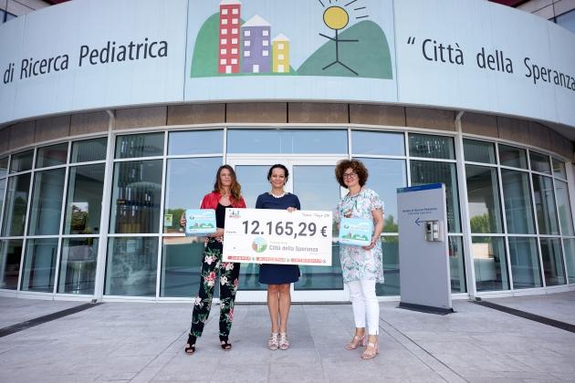 Despar dona dodicimila euro a Fondazione Città della Speranza
